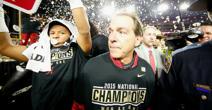 Saban rips NFL detractors for 'wear and tear' comments