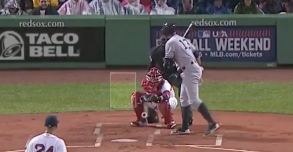 Alex Rodriguez dried his baseball bat in the most NSFW way possible