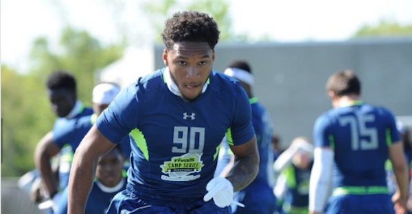 Big four-star safety drops diverse top 10
