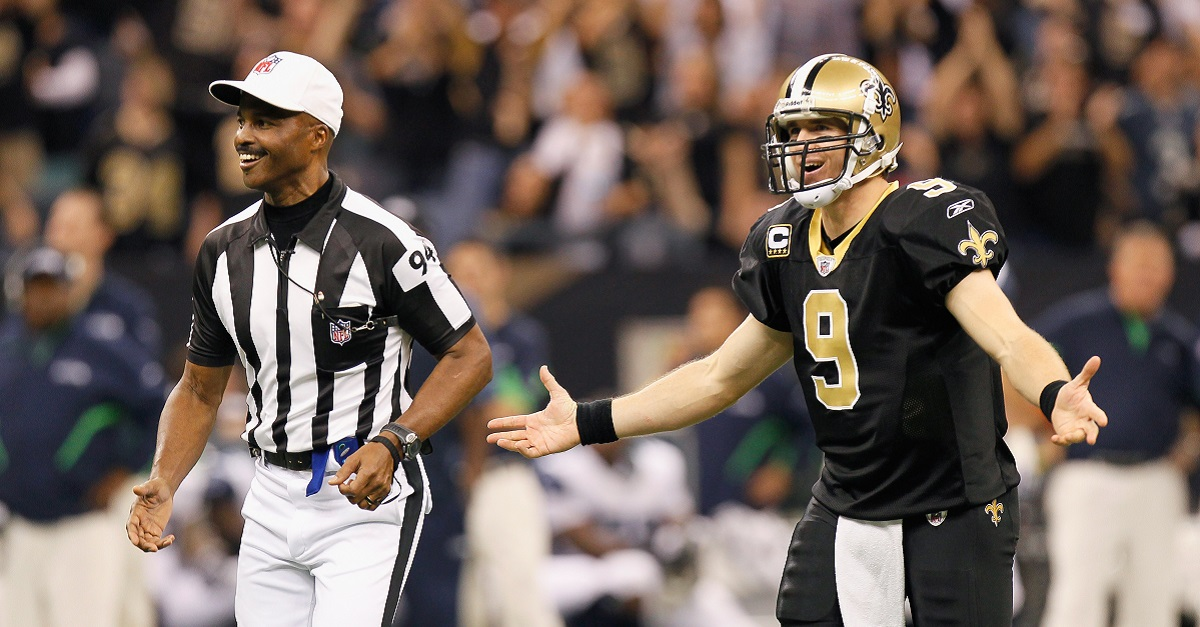 NFL Rule Changes, Referee