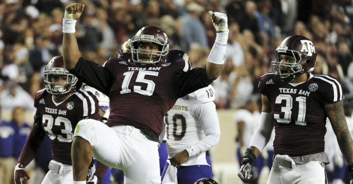 The best edge rusher in the SEC is not Myles Garrett according to Pro Football Focus