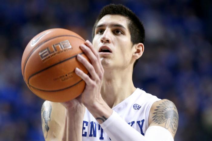 Kentucky forward won't face suspension despite arrest