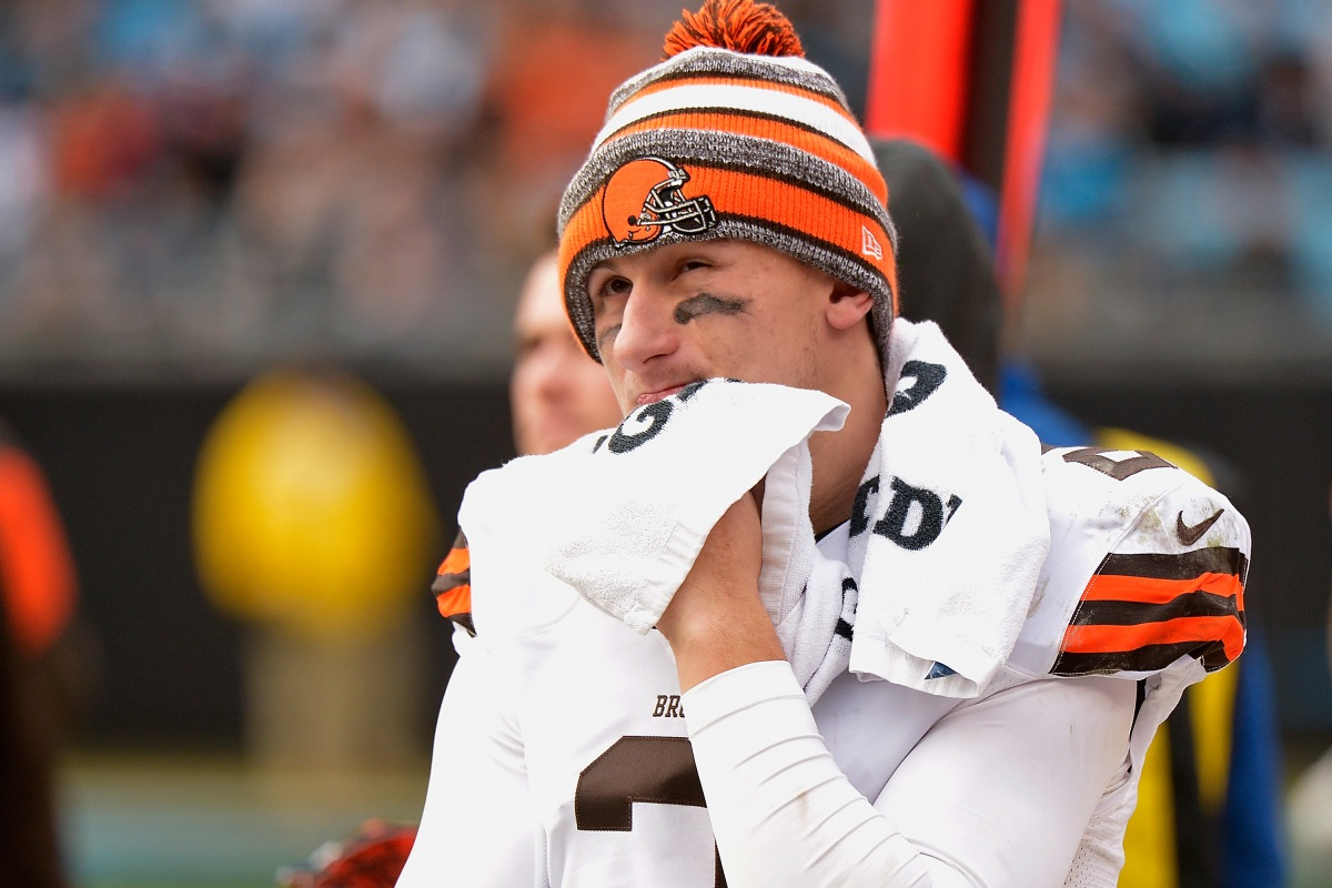 Johnny Manziel talks possibly following Tim Tebow's path from NFL QB to professional baseball player