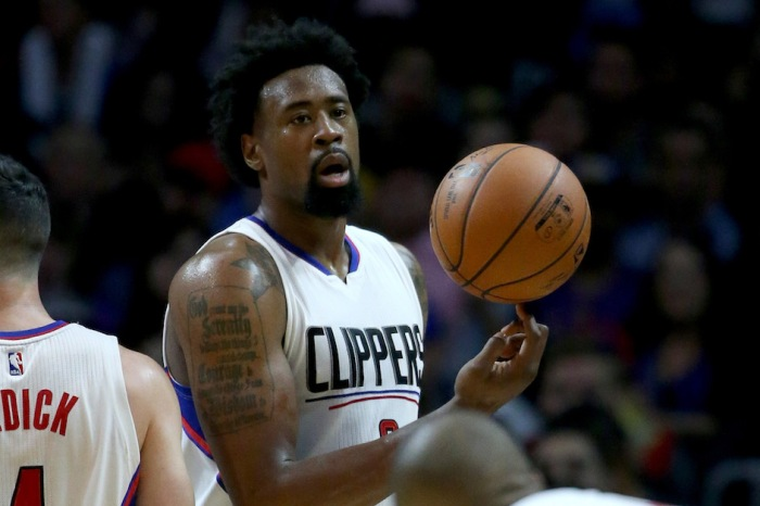 One person was hospitalized following car accident involving Clippers center DeAndre Jordan