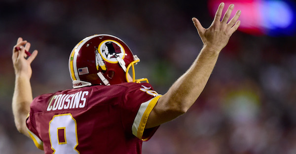 Just like against RG3, the Washington locker room is reportedly turning on Kirk Cousins