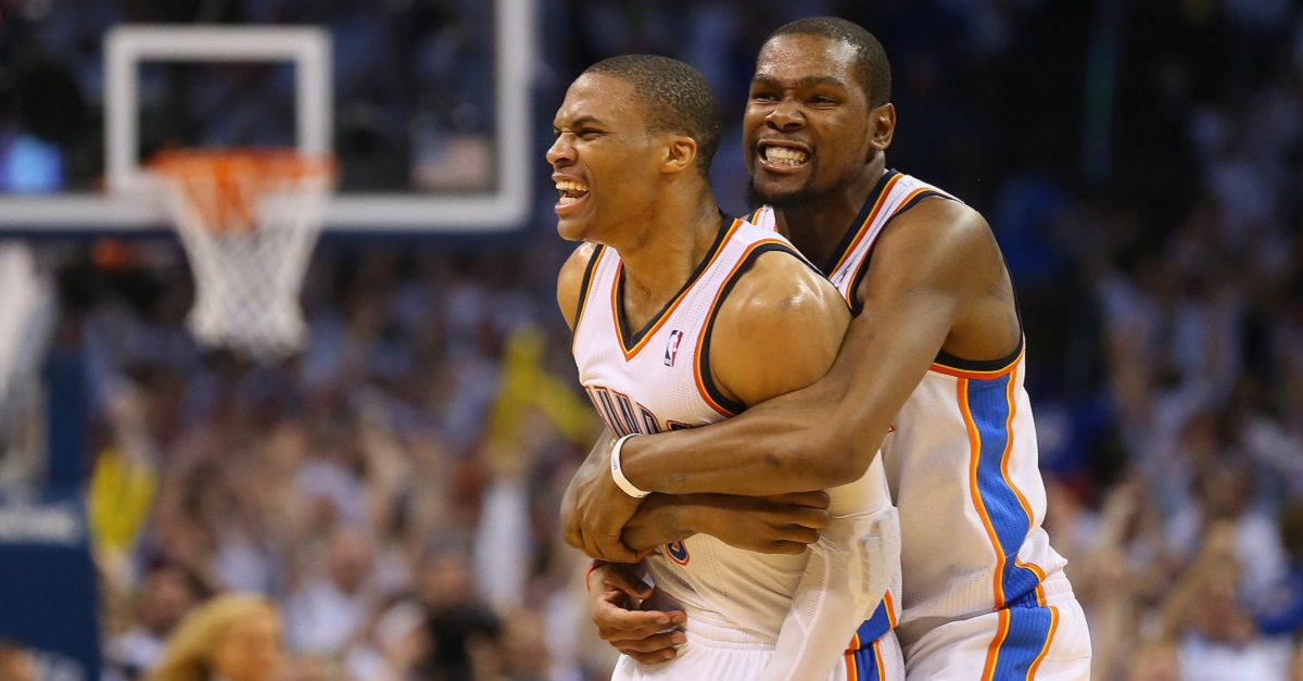 ESPN reporter says he 'misspoke' about reported meeting between KD and Westbrook