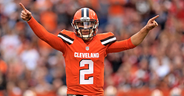 Johnny Manziel has officially been offered a pro football contract