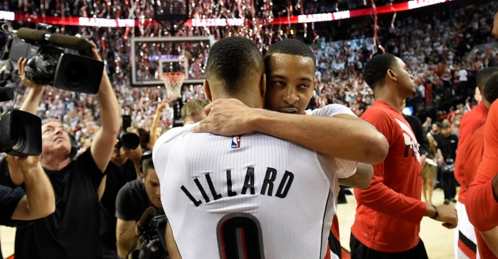 This Portland guard just got a max deal and his name isn't Lillard