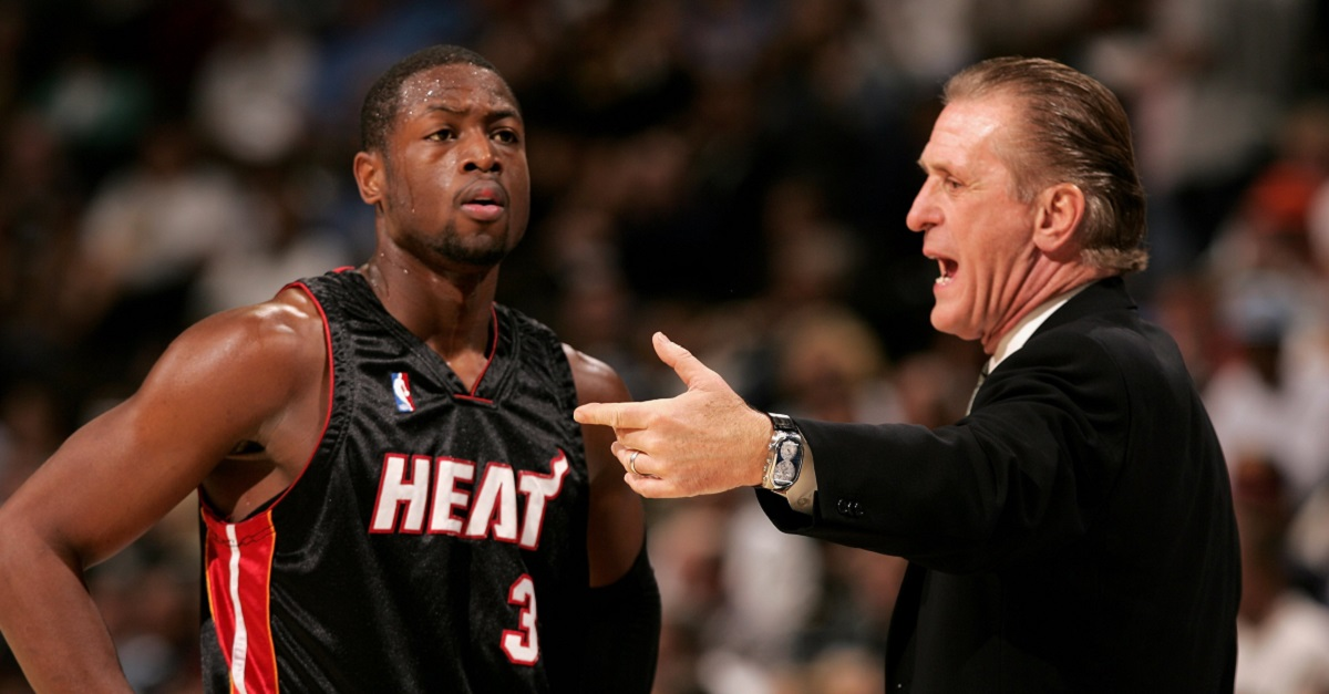 Too little too late: Pat Riley admits mistake with letting D-Wade go