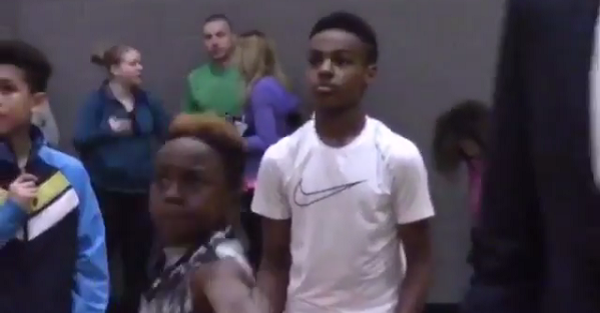 LeBron James Jr. is already looking like a better shooter than his dad