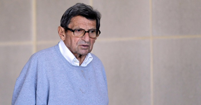 Joe Paterno allegedly knew about an earlier abuse claim against Jerry Sandusky