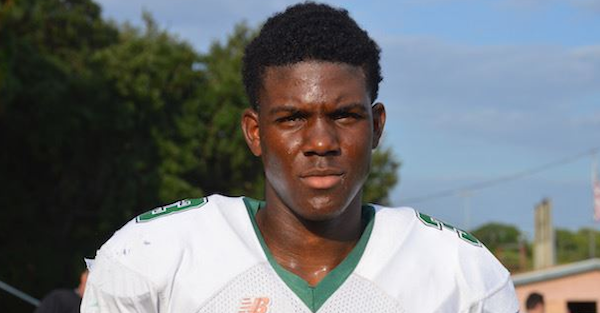 2018's No. 7 ranked athlete Jermaine Eskridge down to three schools