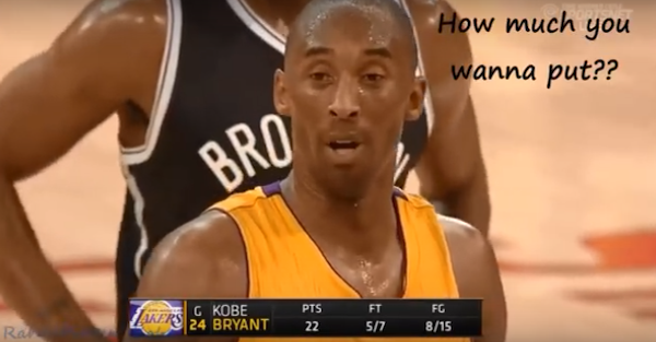 Kobe bryant bets on free throw betting sites that accept credit cards