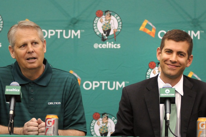 Celtics may be considering a decision that would shake up the NBA Draft