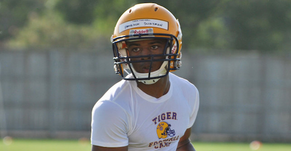 Nation's No. 1 ranked CB Patrick Surtain Jr. releases his top five
