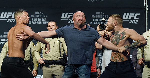 Dana White poured cold water all over hopes of a third McGregor-Diaz fight