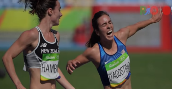 Abby D'Agostino is an inspiration for us all, runs a mile with a torn ACL to finish race