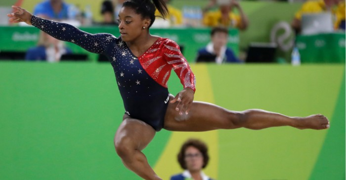 Simone Biles makes America proud and soars higher than ever during Olympics gymnastics qualifier