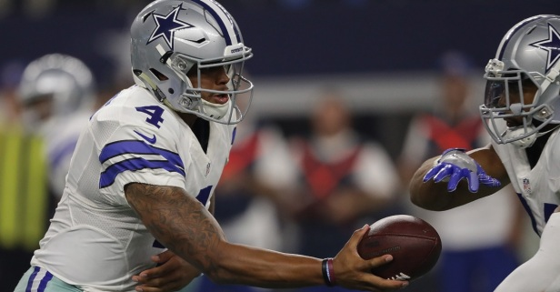 Five games into the season, Dak Prescott and Ezekiel Elliott are already making NFL history