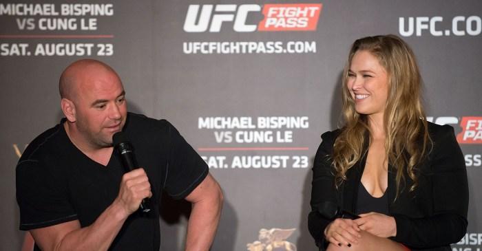 UFC President Dana White has a pretty good reason for missing Ronda Rousey's wedding