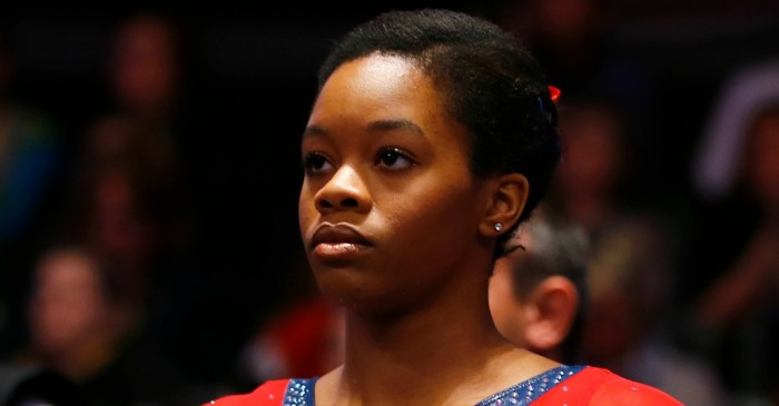 "Gabrielle Douglas reduced to tears over what her mom calls social media ""bullying"""