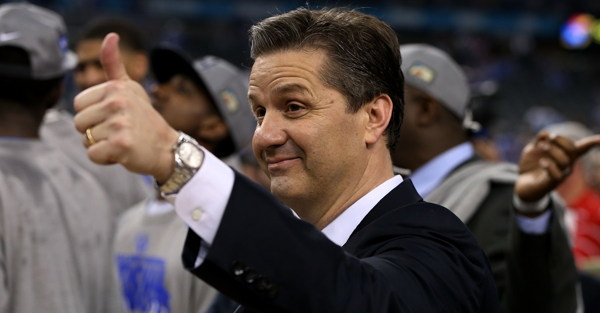 John Calipari's future at Kentucky is crystal clear following the latest move
