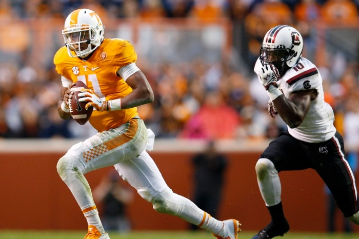 Not so fast, angry Tennessee fans. Josh Dobbs is not as injured as you think