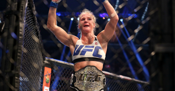 Holly Holm may be eyeing showdown with the baddest woman on the planet, Cris Cyborg