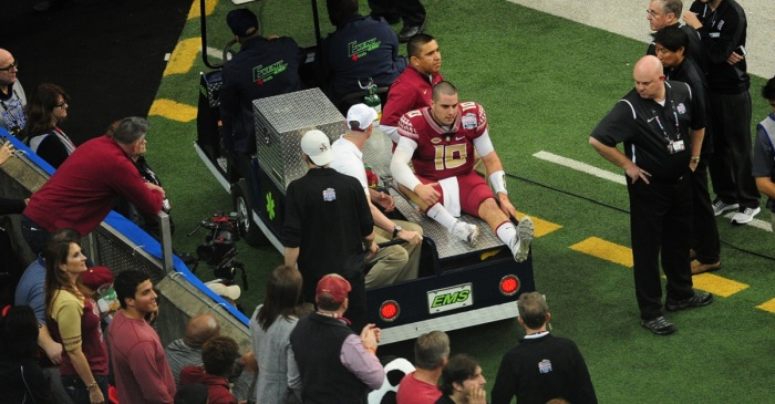 FSU quarterback Sean Maguire held out of practice, could be facing serious injury