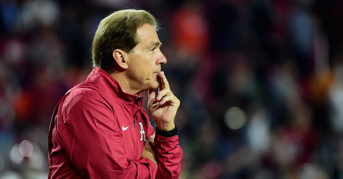 Alabama's recruiting class takes a serious hit just days before National Signing Day
