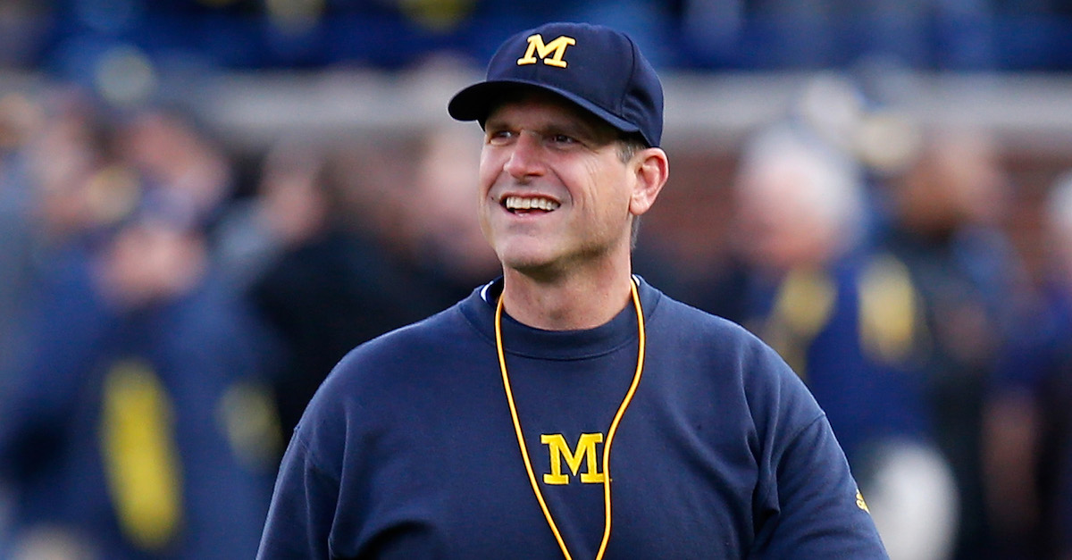 Michigan is opening the wallet in unprecedented fashion to support Jim Harbaugh