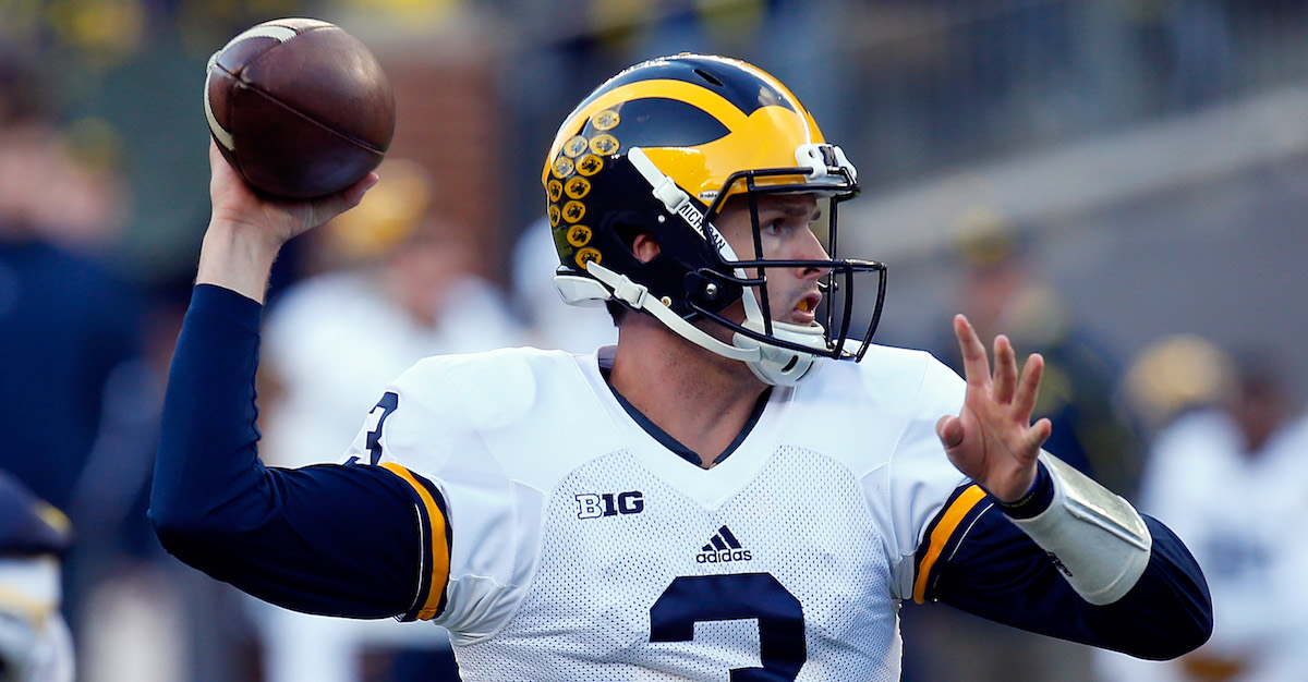 It is now possible to wager on the winner of Michigan's quarterback battle
