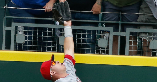 Ho hum, Mike Trout makes another amazing grab that takes away a home run