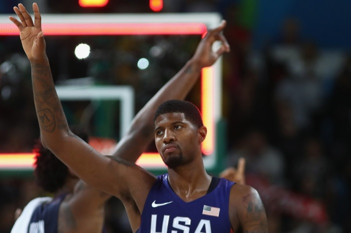 Paul George throws major shade at Team USA for recent struggles in group play