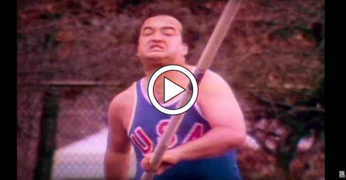 John Belushi's Olympics Skit on 'SNL' Deserves All the Gold Medals