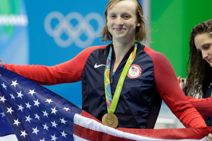American swimmer Katie Ledecky shatters world record to bring home the Olympic gold