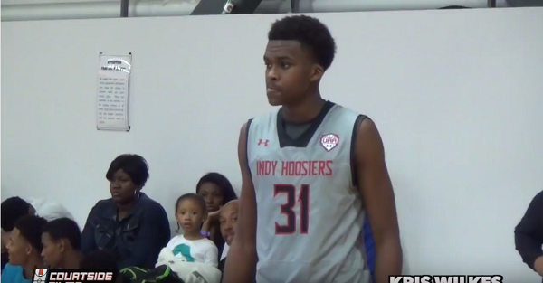 Five-star forward Kris Wilkes drops loaded list of schools