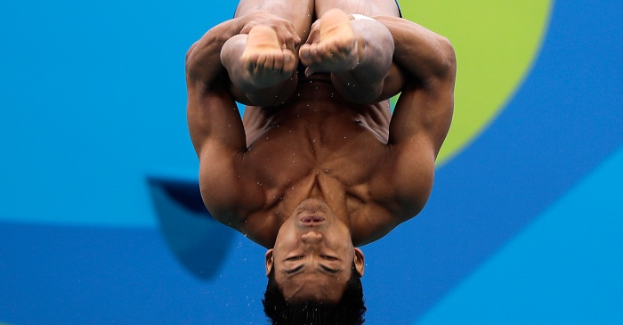 This Malaysian diver's belly flop is one of the best of the Olympics so far