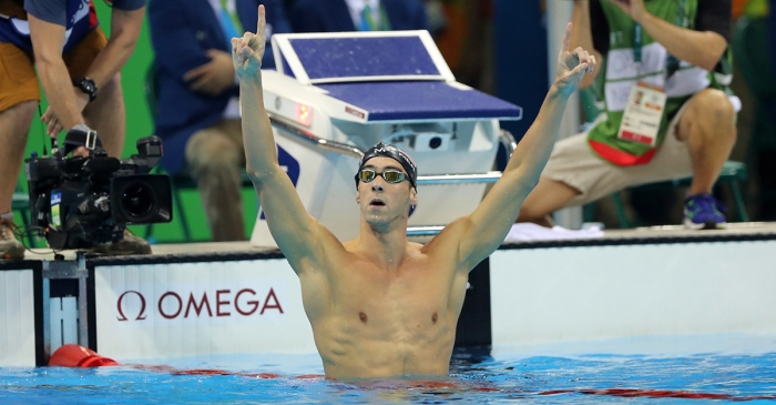 Michael Phelps just won his 21st Olympic gold medal