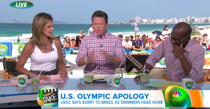 Al Roker lost his cool on live TV and became the hero we needed in the Ryan Lochte mess