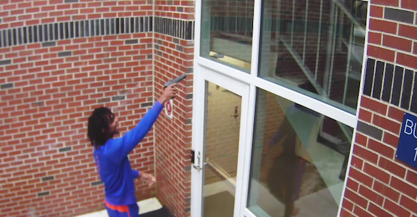 Security footage emerges of BB gun incident which led to two Florida WRs' arrests