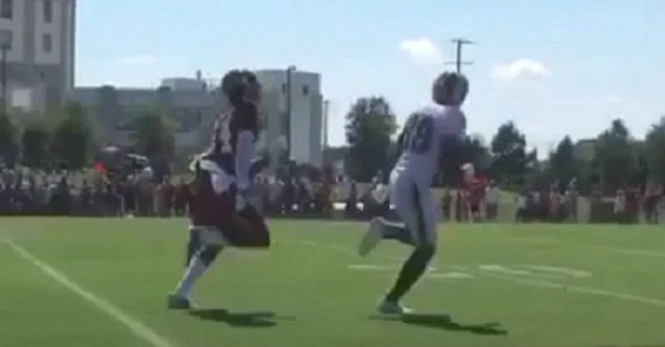 Josh Norman, NFL's highest paid corner, just got burned (twice) at training camp