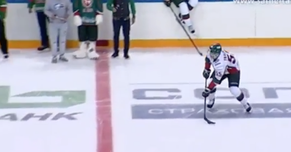 You'll never see another hockey shootout like this