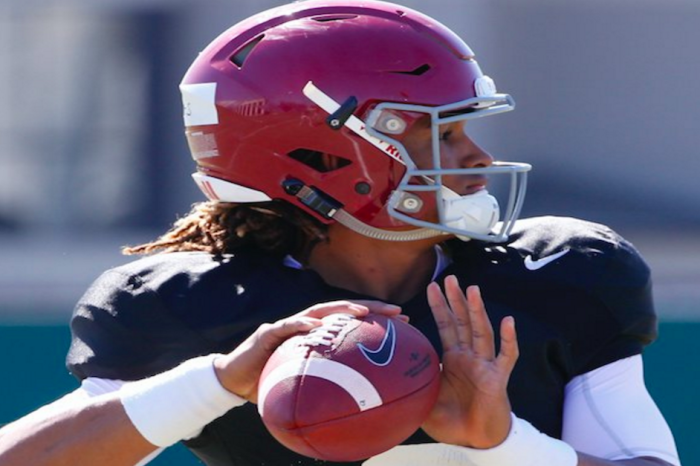 Jalen Hurts continues to wow, owned Bama scrimmage