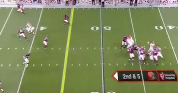 Robert Griffin III is back, completes 50-yard bomb to Terrelle Pryor for touchdown