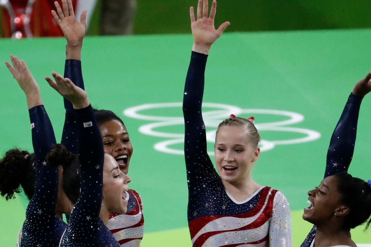 Team USA blows the gymnastics competition out of the water and brings home the gold