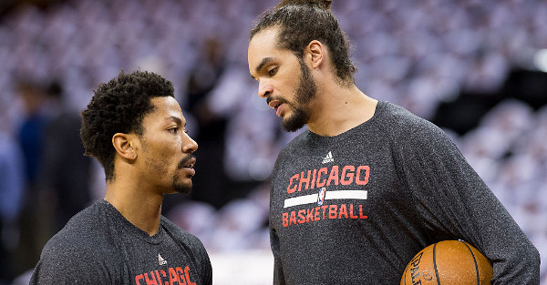 The Knicks are crowing about getting Derrick Rose and Joakim Noah, but the Bulls say, you can have them