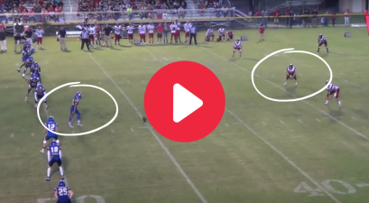 Laser Onside Kick Drills Opponent's Face, And Works Perfectly
