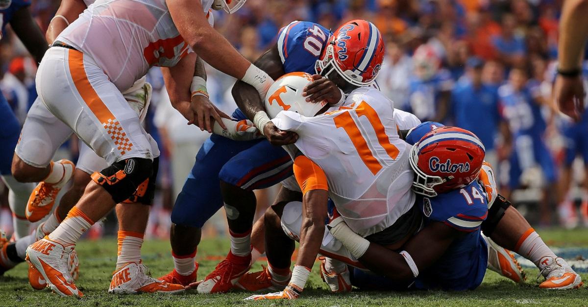 Butch Jones gave Florida's defense a compliment Alabama didn't even get