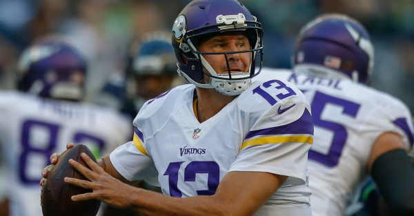 The Vikings say they're confident in the mediocre Shaun Hill, but really, they're panicking a bit